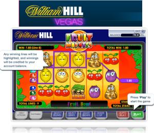 online casino william hill slot machine book of ra